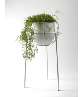 Plant stand cage - White