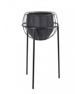 Plant stand cage - Black