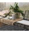 Lounge Chair Oluf Black - House Doctor