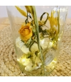 Light your flowers yellow/white