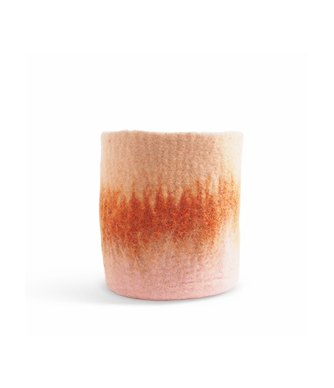 FLOWER POT 18, L, terracotta