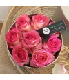 box of roses pink S